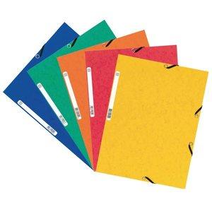 Comprar Pack 10 carpetas con gomas y 3 solapas Nature Future 355g colores surtidos