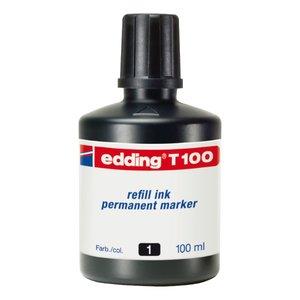 Comprar Tinta recarga rotulador edding T100 100ml negro