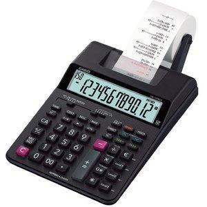 Comprar Calculadora impresora Casio HR-150RCE,12 dígitos, Velocidad: 2 líneas/seg. Impresión 2 colores. Función post-impresión y re-impresión . Adaptador AC opcional.