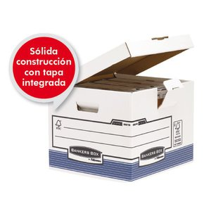 Comprar Pack 10 contenedor archivo R-kive tapa fija 293x350X370mm blanco