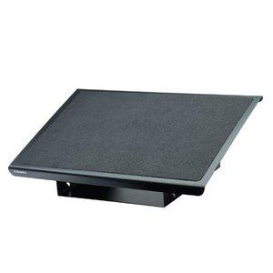 Comprar Reposapiés metálico Professional series ajustable a tres alturas 35x56cm