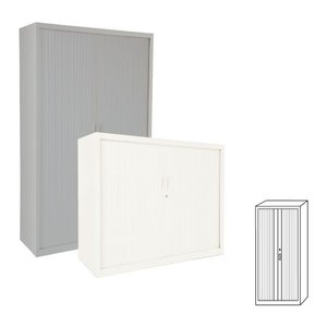 Comprar Armario de persiana puertas verticales 120x220x45cm