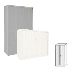 Comprar Armario de persiana puertas verticales 102x220x45cm