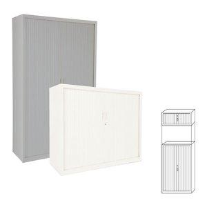 Comprar Armario de persiana puertas verticales 120x198x45cm