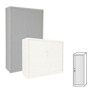Comprar Armario de persiana puertas verticales 60x198x45cm
