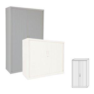 Comprar Armario de persiana puertas verticales 120x181x45cm
